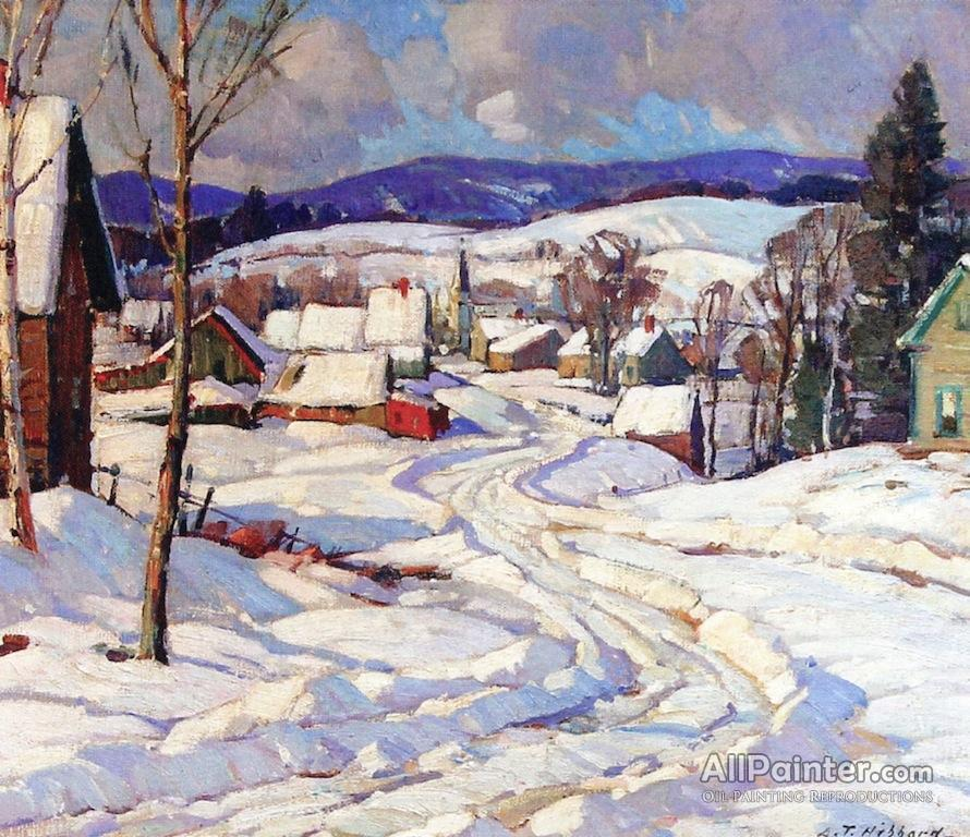 Aldro Thompson Hibbard paintings for sale:Jamaica, Vermont