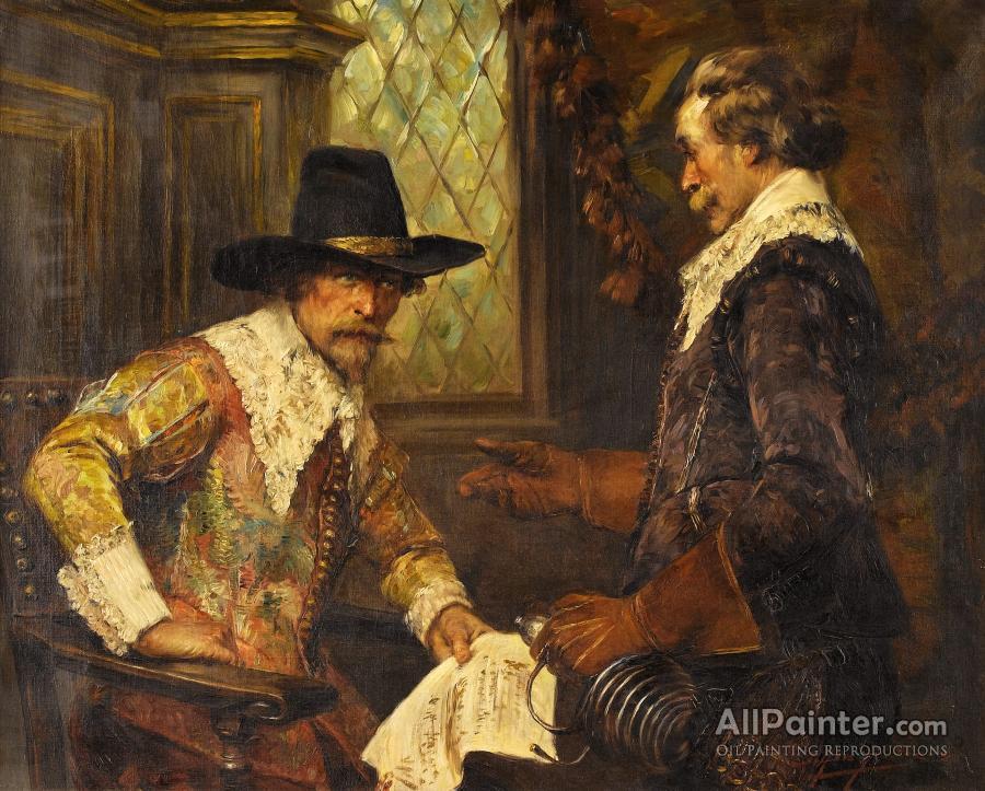 Alex De Andreis paintings for sale:The Message