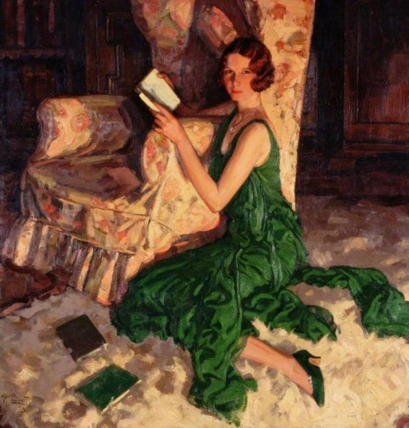 Juliet, Daughter Of Richard H. Fox Of Surrey by Alfred Lambart Oil Painting Reproductions