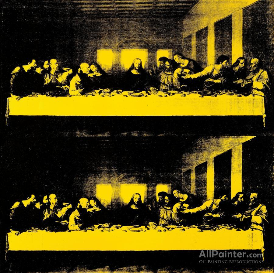 Andy Warhol Last Supper By Andy Warhol Oil Painting Reproductions ...