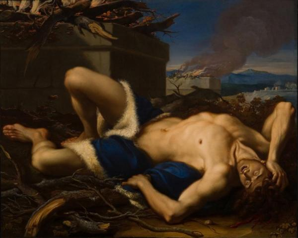 The Death Of Abel by Antonio Balestra Oil Painting Reproductions