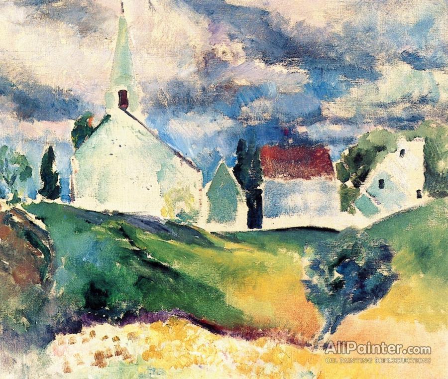 Arthur B Carles Paintings For SaleCountry Church