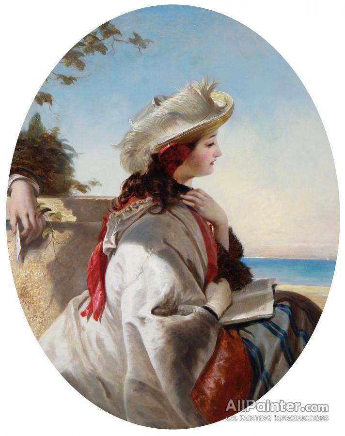Augustus Leopold Egg paintings for sale:The Love Letter