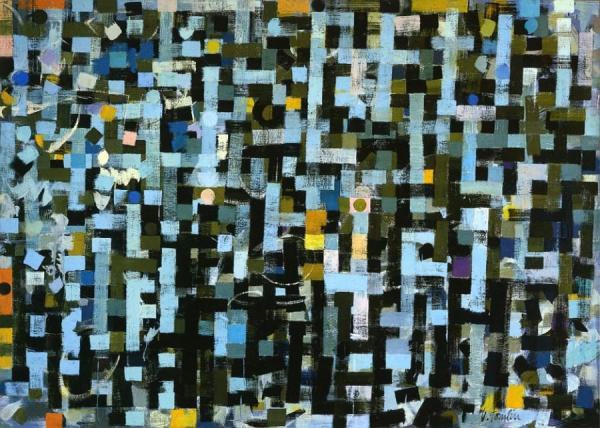 Number 10 by Bradley Walker Tomlin Oil Painting Reproductions