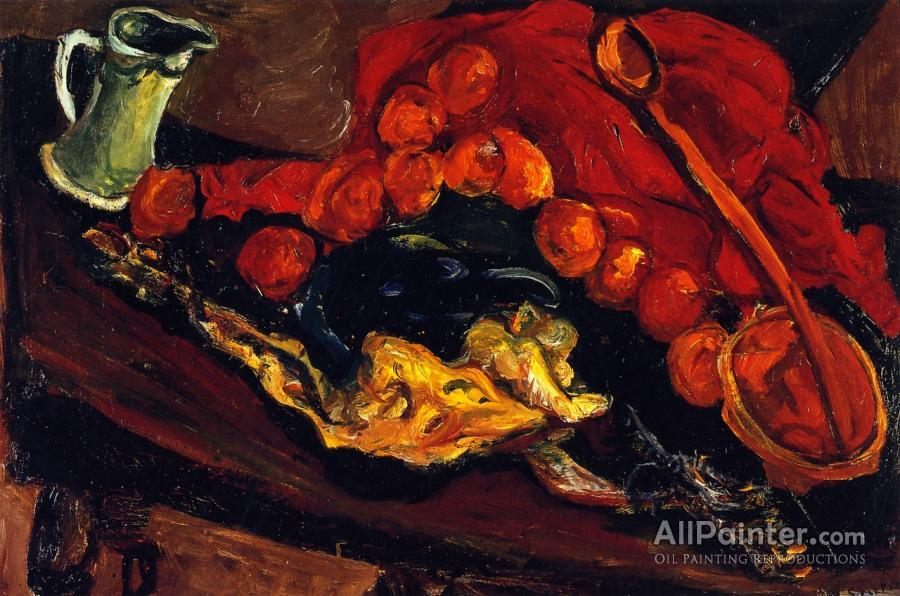 71c92efa08 Chaim Soutine Still Life With Turkey Oil Painting Reproductions for ...