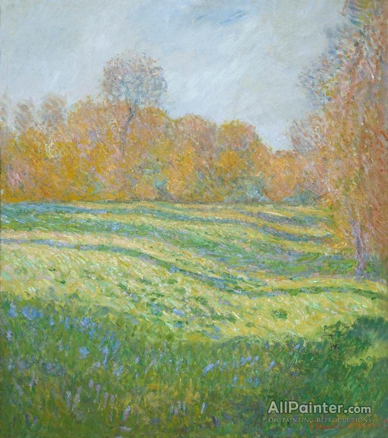 Claude Monet paintings for sale:Meadow At Giverny