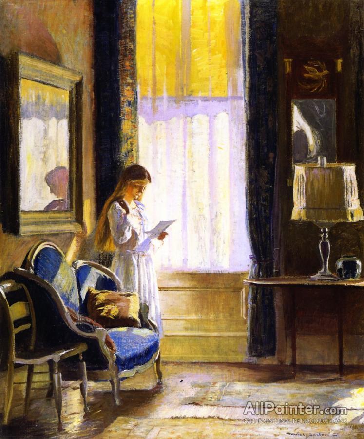 Daniel Garber Paintings For Morning Light Interior
