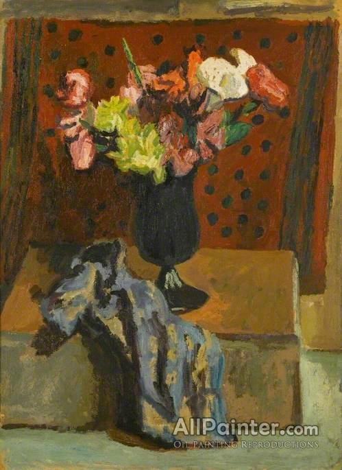 Duncan Grant Artificial Flowers Oil Painting Reproductions For Sale