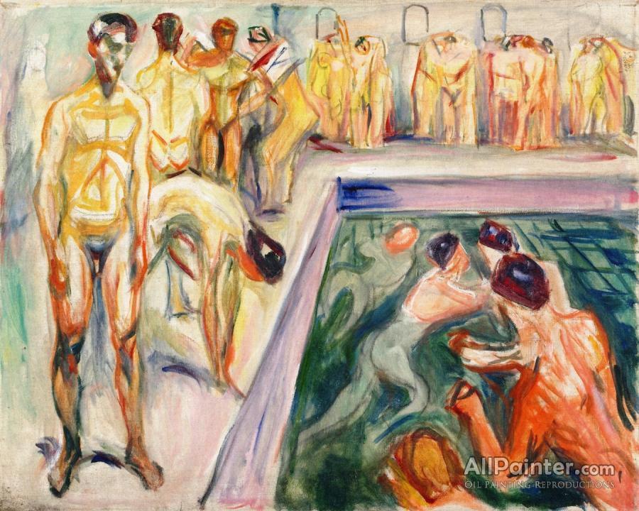 Naked Men In Swimming Pool