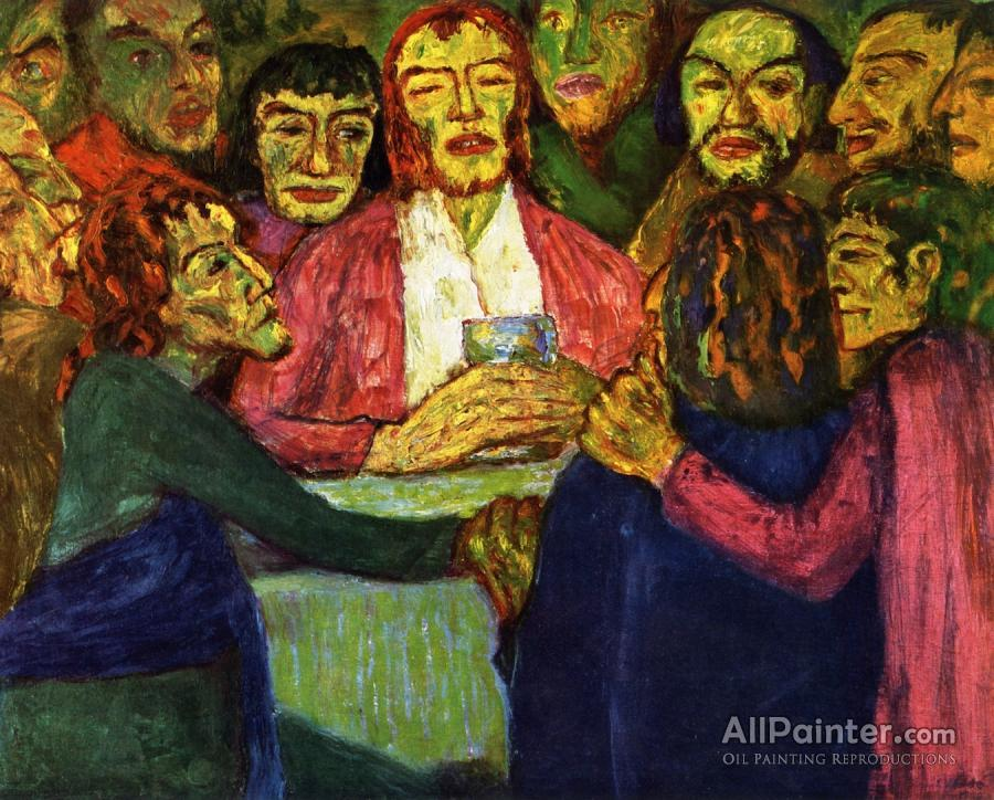 Emil Nolde The Last Supper Oil Painting Reproductions For Sale