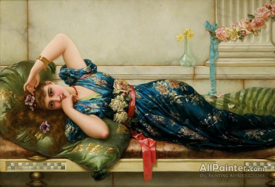 Emile Eisman-semenowsky paintings for sale:The Relaxation