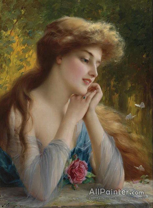 Emile Vernon paintings for sale:Reverie