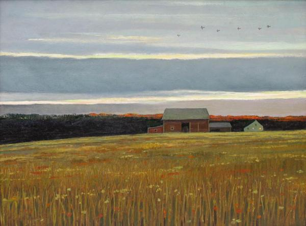 October by Eric Sloane Oil Painting Reproductions