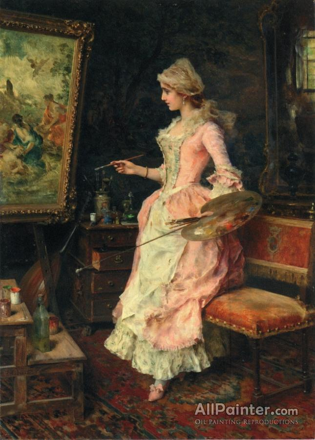 Federico Andreotti paintings for sale:The Finishing Touches