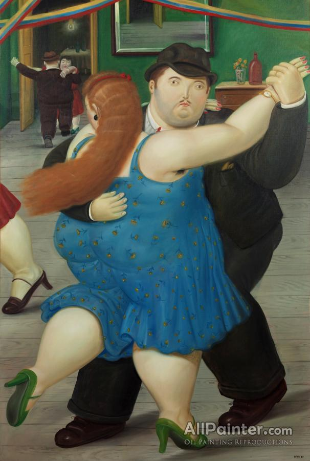 Fernando Botero paintings for sale:Dancers