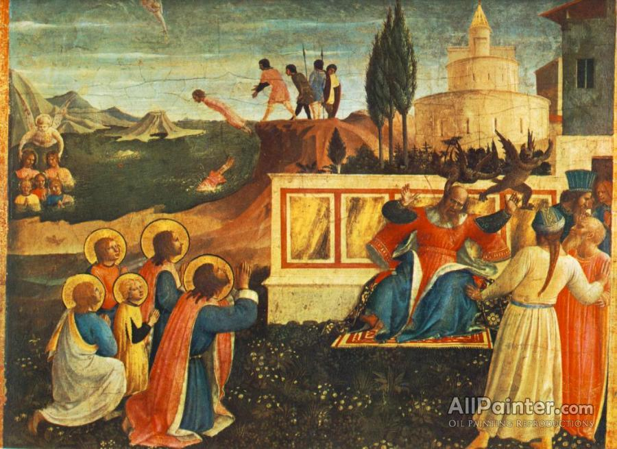 Fra Angelico paintings for sale:Saint Cosmas And Saint Damian Salvaged (san Marco Altarpiece)