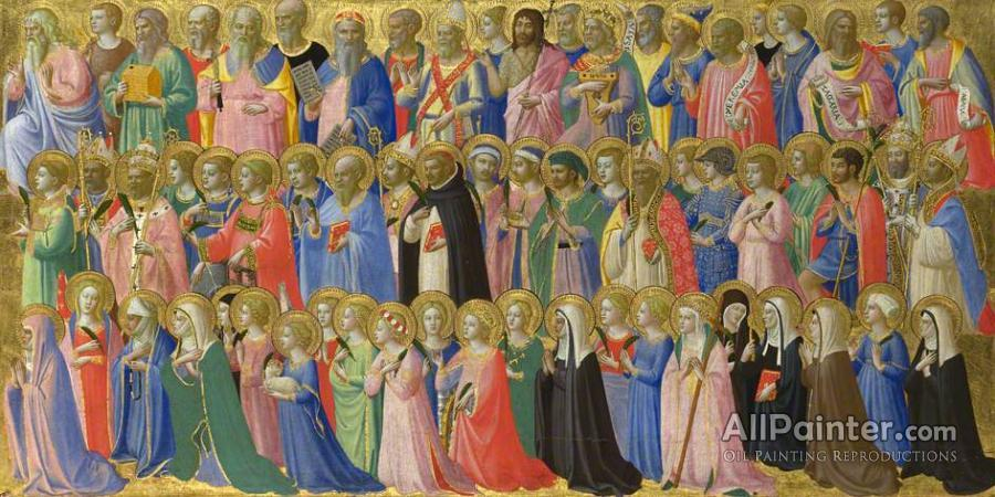 Fra Angelico paintings for sale:The Forerunners Of Christ With Saints And Martyrs