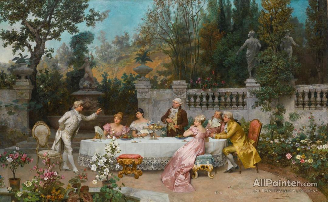 Francesco Beda The Betrothal Oil Painting Reproductions For Sale
