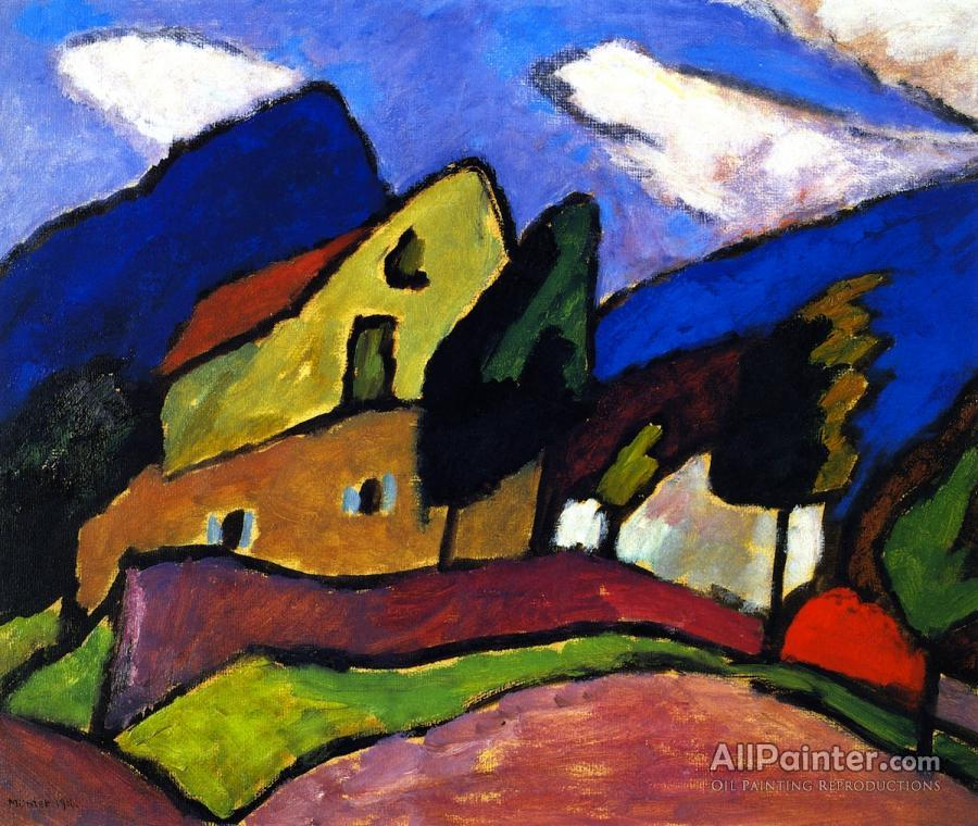 Gabriele Münter paintings for sale:Wind And Clouds