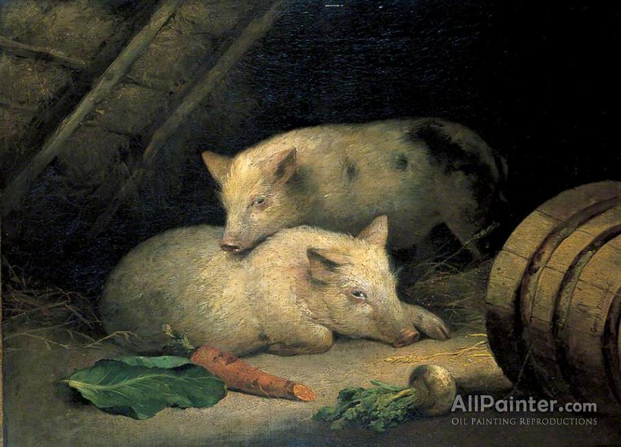 george morland pigs oil painting reproductions for sale allpainter