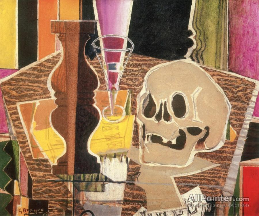 Georges Braque paintings for sale:Baluster And Skull