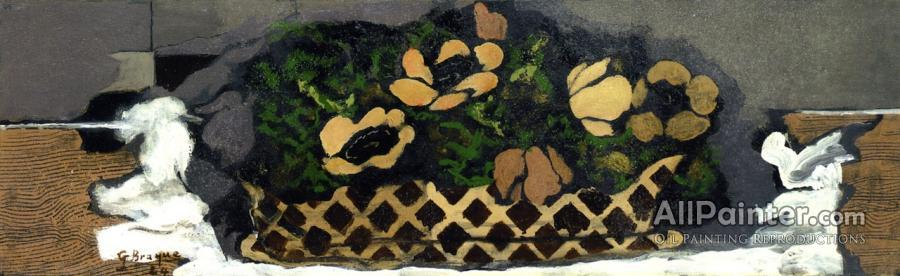 Georges Braque paintings for sale:Basket Of Anemones