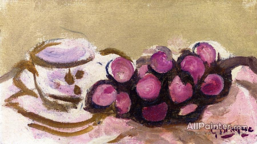 Georges Braque paintings for sale:Cup And Grapes