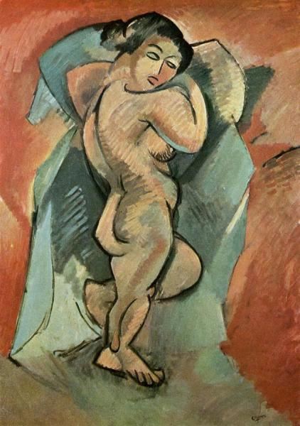Nude by Georges Braque Oil Painting Reproductions