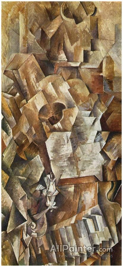 Georges Braque paintings for sale:Piano And Mandolin
