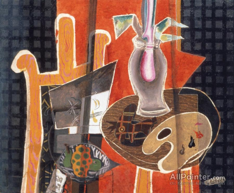 Georges Braque paintings for sale:Still Life With Easel