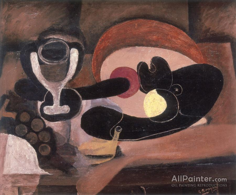 Georges Braque paintings for sale:Still Life With Fruit Dish