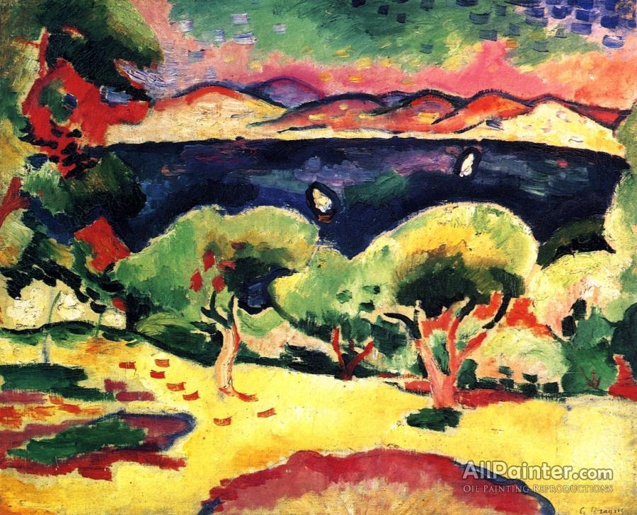 Georges Braque paintings for sale:The Gulf, Les Lecques