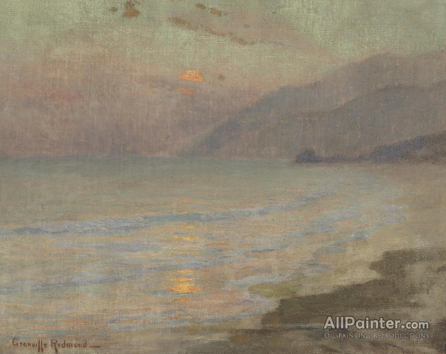 Granville Redmond paintings for sale:A Coastal Sunset, Thought To Be Laguna Beach