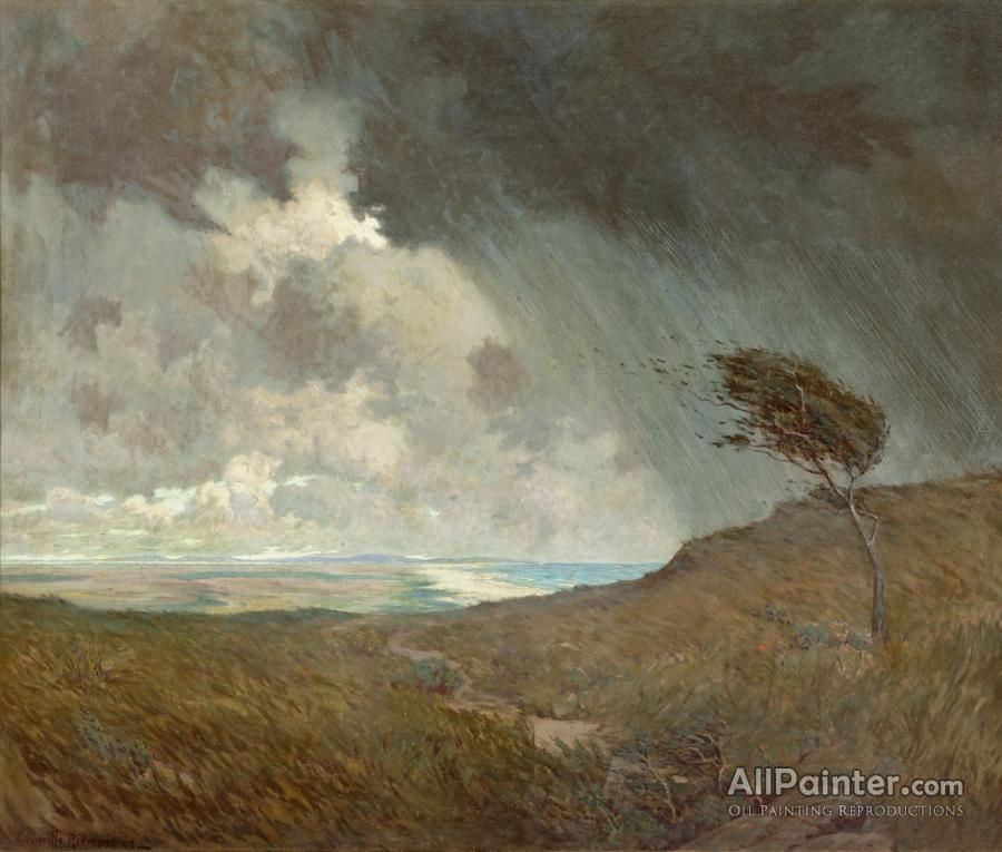 Granville Redmond paintings for sale:Coastal Storm, 1905
