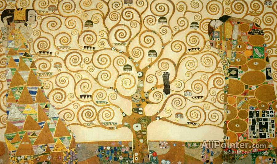 Gustav Klimt The Tree Of Life Oil Painting Reproductions For Sale