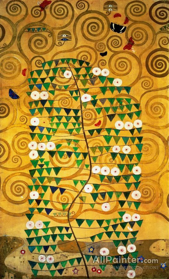Gustav Klimt Tree Of Life Oil Painting Reproductions For Sale
