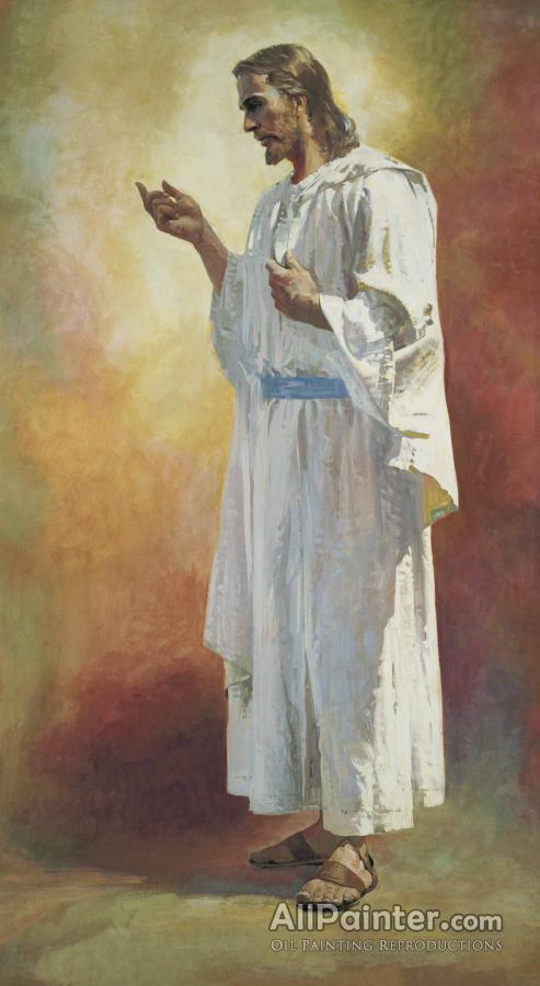 Harry Anderson Jesus The Christ Oil Painting Reproductions ...