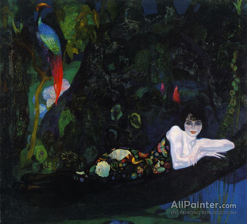 Hermen Anglada Camarasa paintings for sale:Sonia De Klamey