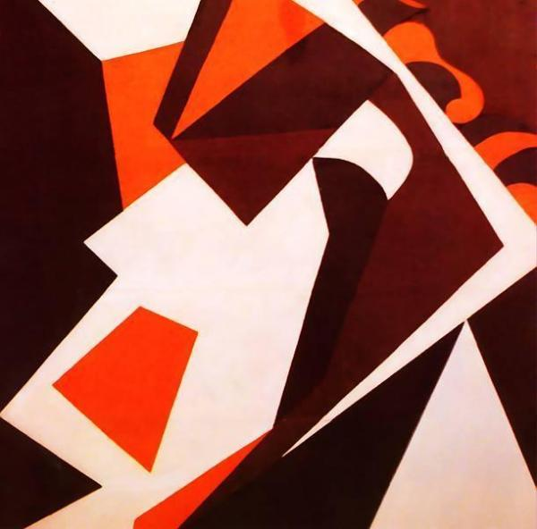 Geometric Forms by Jean Arp Oil Painting Reproductions
