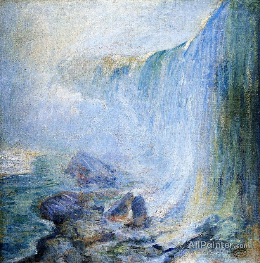 65aebf86f9c0c John Henry Twachtman Niagara Falls Oil Painting Reproductions for ...