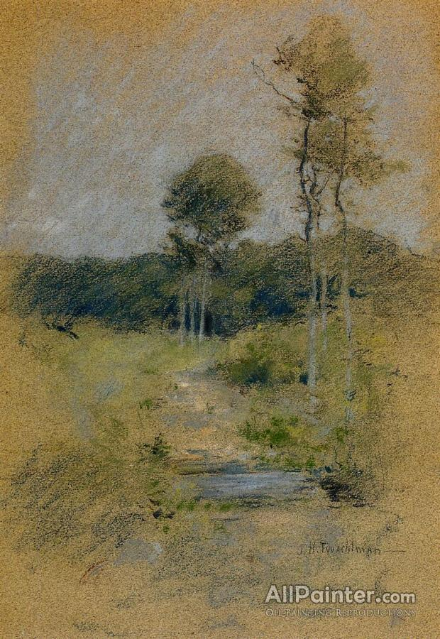 f388ff9eb3a9c John Henry Twachtman Spring Landscape Oil Painting Reproductions for ...