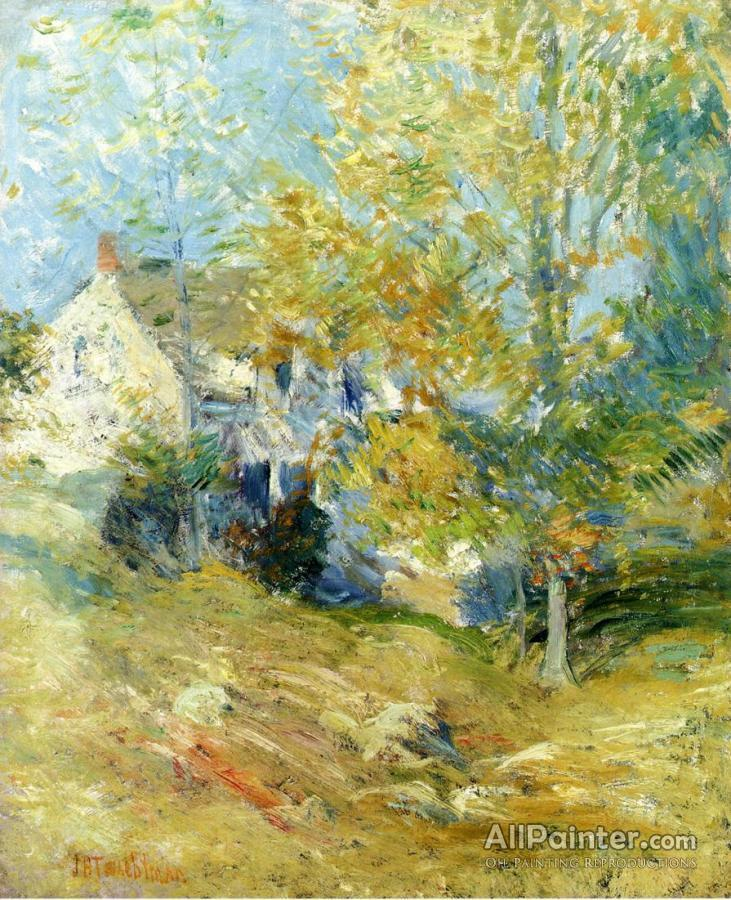 921a634b1f8c1 John Henry Twachtman paintings for sale The Artist s House Through The Trees