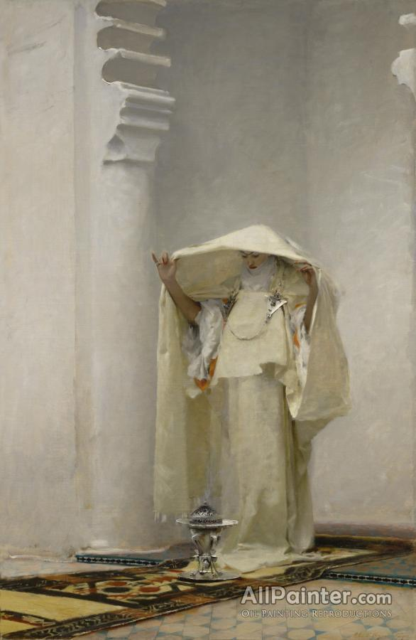 John Singer Sargent paintings for sale:Smoke Of Ambergris, 1880