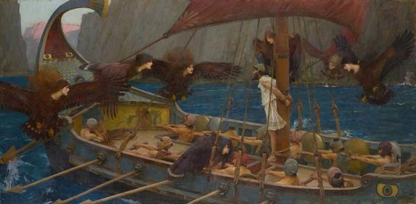 Ulysses And The Sirens by John William Waterhouse Oil Painting Reproductions