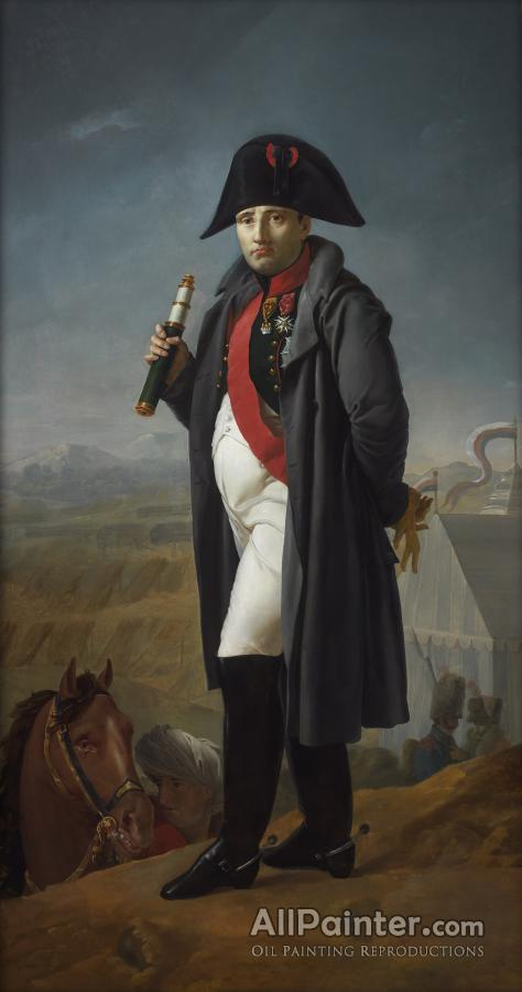Joseph Franque paintings for sale:Napoleon Before The Battle Of Moscow, 1812