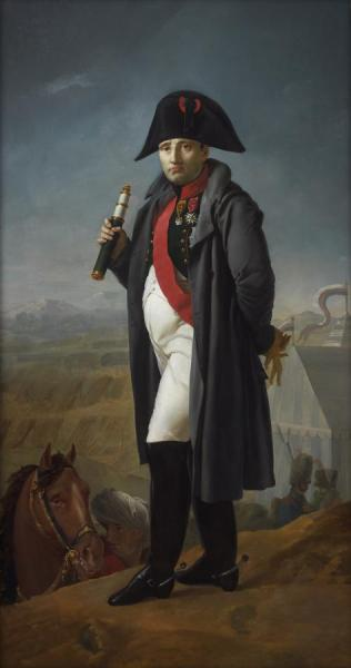 Napoleon Before The Battle Of Moscow, 1812 by Joseph Franque Oil Painting Reproductions