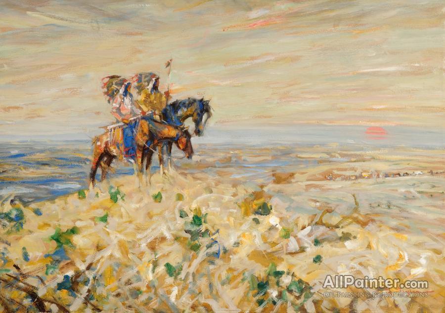 Julius Seyler paintings for sale:Blackfeet