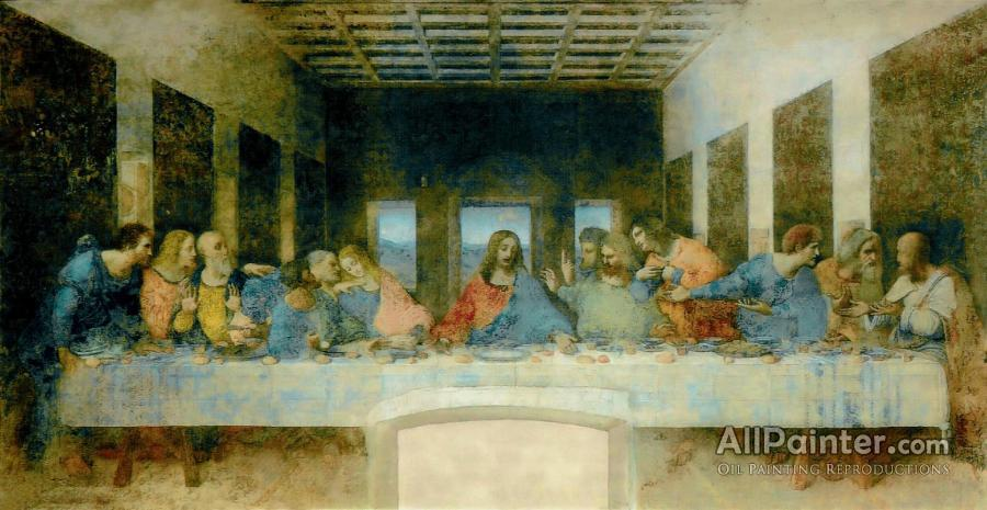 Leonardo Da Vinci Last Supper Oil Painting Reproductions For Sale