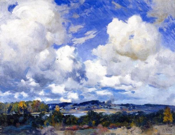 April by Mathias Joseph Alten Oil Painting Reproductions