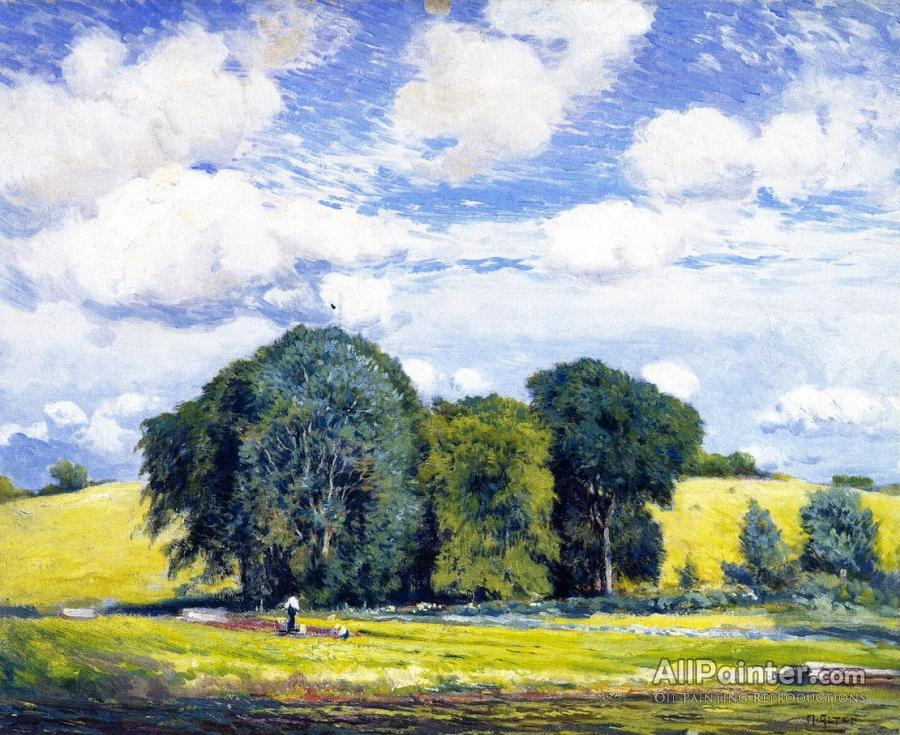 Mathias Joseph Alten paintings for sale:Summer Landscape
